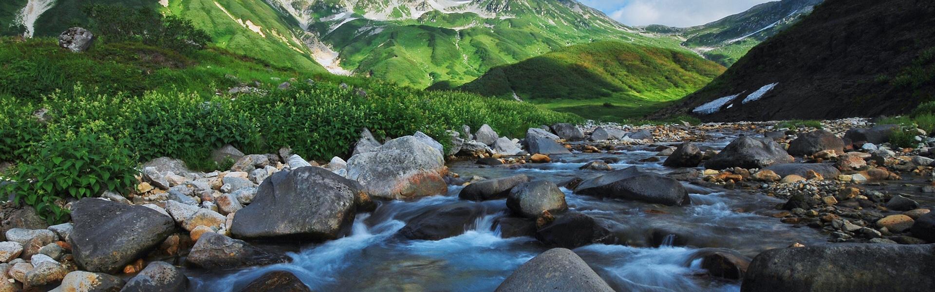 富山の美しい水で健やかなお肌へ導く
