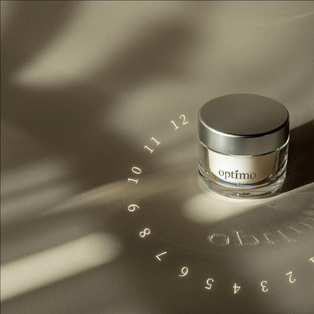 時間と向き合う化粧品 オプティモ